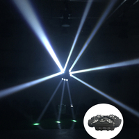 1Pcs Lot Moving Head Lights LED Spider 9X10W RGBW 4IN1 CREE LEDs Moving Head Beam Lights