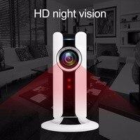 Wi fi IP панорамный камера VR 180 градусов 720 P камера системы безопасности HD дистанционное управление камеры скрытого видеонаблюдения для офис н...