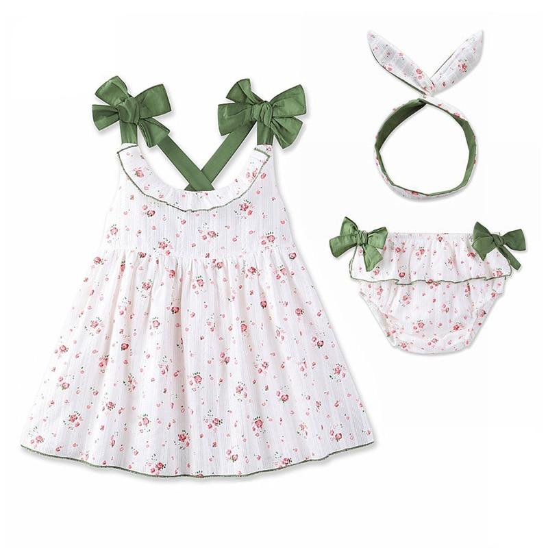 Baby Bebe Girls Jurken Set Kinderen Meisjes Mouwloze Jurk Backless - Kinderkleding - Foto 1
