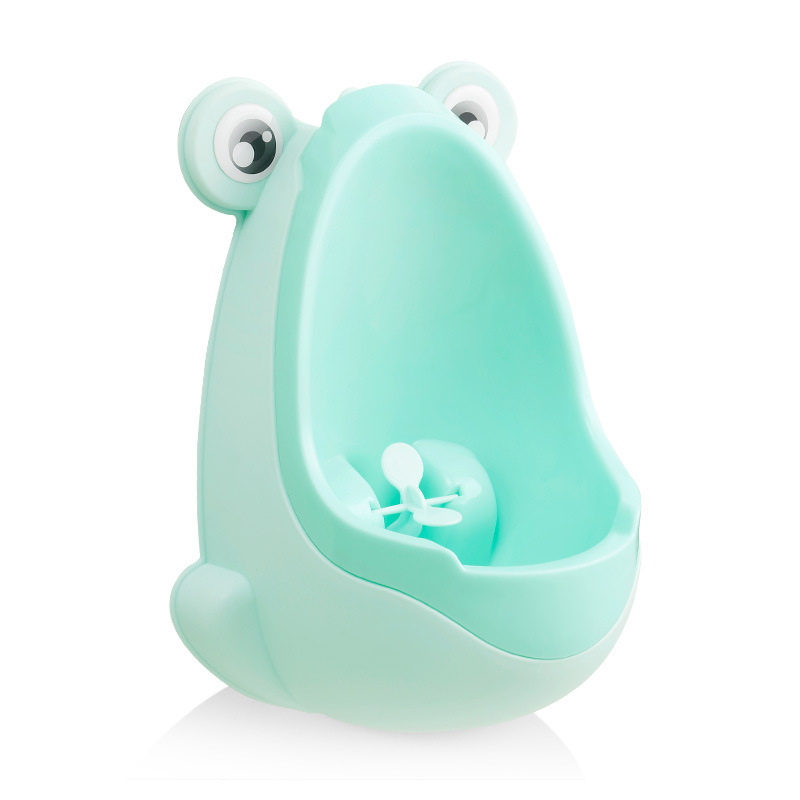 Baby Boy Potty Toilet Training Frog Cute Cartoon Plastic Toilet Trainer Potty Potties Pee Wall-Mounted Child Boy Stand Vertical