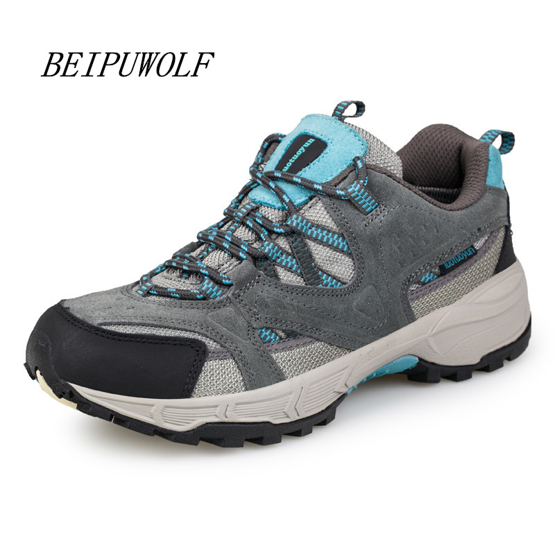 2017 Spring New Women Girls Genuine Leather Running Shoes Breathable Outdoor Anti-skidding Sneakers Comfortable Sports Shoes kelme 2016 new children sport running shoes football boots synthetic leather broken nail kids skid wearable shoes breathable 49