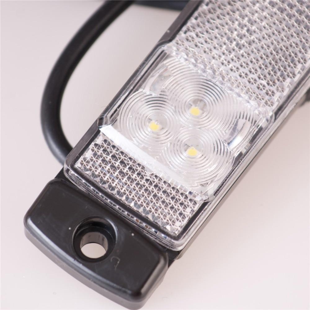 2PCS 12V / 24V Auto Styling Camion Remorcă Ofr LED Bar de lumină - Faruri auto - Fotografie 3
