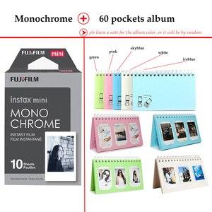 Image 5 - Fujifilm Instax Mini Film Monochrome 10 Sheets for Instax Mini 9 8 7s 70 90 25 Instant Polariod Camera Smartphone Printer SP 2 1