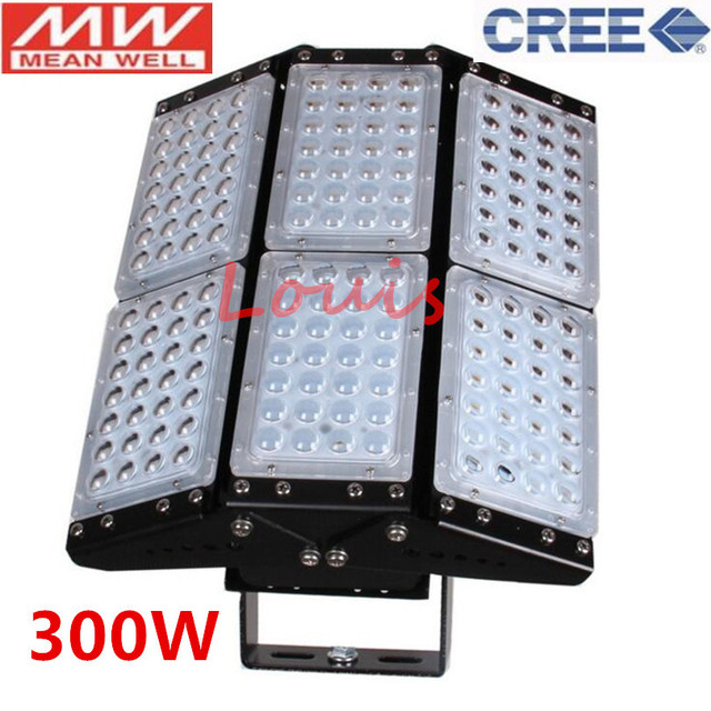 LED Flood Light 500W 300W 200W 150W 100W LED Tunnel Light Adjustable for Building Engineering Project Industrial Free Shipping