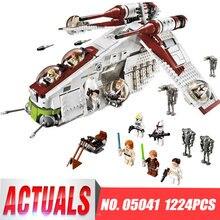 Star 05041 Wars Compatible legoinglys 75021 Republic Gunship Set Children Educational Blocks Christmas Gifts For Boys
