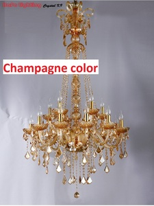 Image 4 - Long Stair Chandelier Crystal Large Foyer Light Modern Fashion Living Room Dining Hall Complex Staircase Lighting chandelier