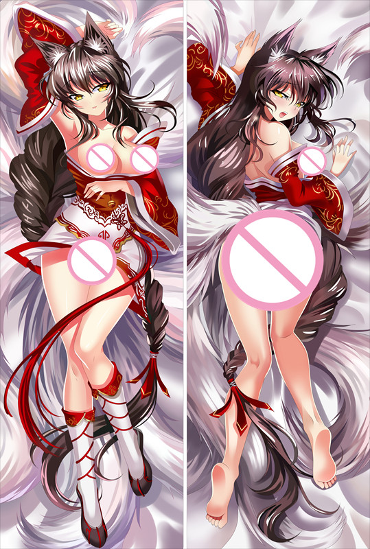MMF League Of Legends Characters Ashe And Sona Buvelle Body PillowCase LoL Katarina Body Pillow Cover Anime Dakimakura