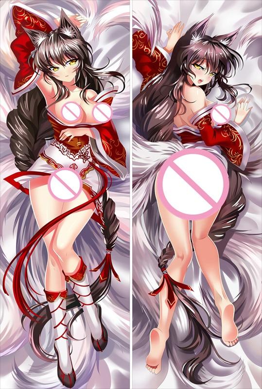 MMF League Of Legends Characters Ashe And Sona Buvelle Body PillowCase LoL Katarina Body Pillow Cover Anime Dakimakura