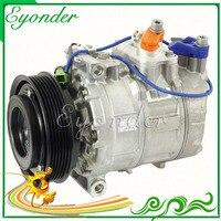 Auto AC A/C Kompressor 7SB16C Kupplung Pulley 6PK für Porsche BOXSTER 986 987 3 2 CAYMAN 987 2 7 3 4 04-13 4471706340 4471007920