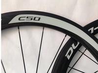 Hot Sell 50mm Carbon Bike Wheels 700c Full Fiber Carbon Wheelset 3k Matte Clincher Bicycle Road