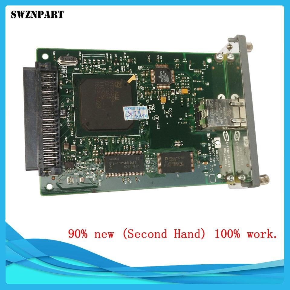 Ethernet Internal Print Server Network Card for HP JetDirect 620N J7934A J7934G 4200 4250 5500 5550 3005 5200 2100 2200 2400 500Ethernet Internal Print Server Network Card for HP JetDirect 620N J7934A J7934G 4200 4250 5500 5550 3005 5200 2100 2200 2400 500