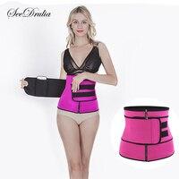 Хит  дышащий утягивающий пояс для тела  пояс для тренировки талии  стальной корсет с косточками для женщин  послеродовой пояс для похудения  ...