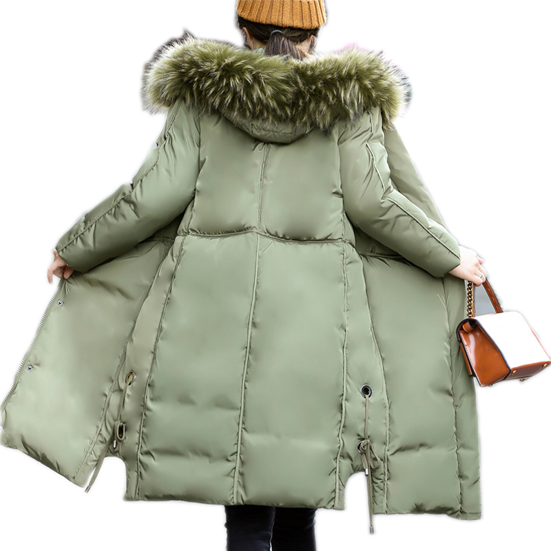 2017 Brand Women Winter Down Jackets And Coats Plus Women's Parka Hooded Warm Casual Overcoats Size Plus 4XL Female Jacket стоимость