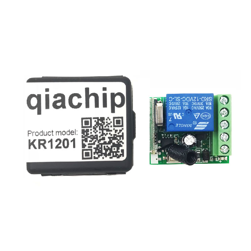 Qiachip-433Mhz-Universal-Wireless-Remote-Control-Switch-DC-12V-1CH-relay-Receiver-Module-RF-Transmitter-433 (4)