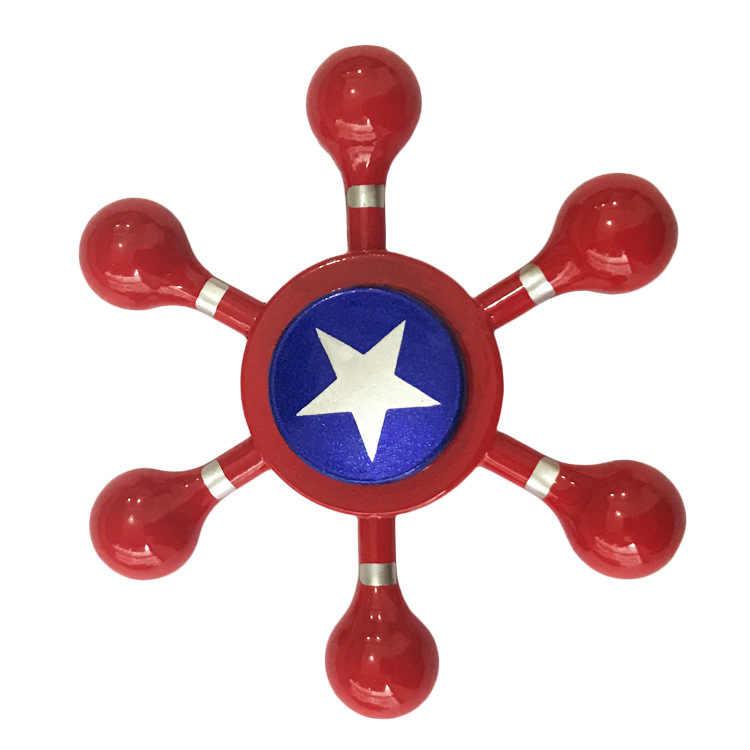 Тип Спиннер-Спиннер мстители супергерой Халк ведом Человек-паук Железный человек Капитан Америка металлический ручной Спиннер