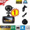 2017 NEW Big promotion Portable 1x Car 1080P 2.4 Full HD DVR Action Video Cameras Accessories G-sensor Night Vision Dropshipping