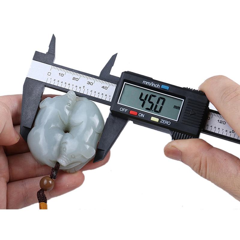 Measuring Tool 0-150mm Plastic LCD Digital Electronic Vernier Caliper Rule mm/inch Micrometer Measuring Tools