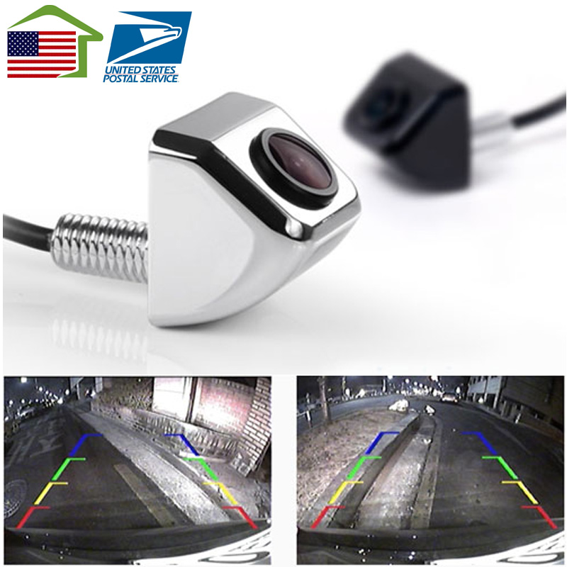 US stocks 2017New HD CCD Waterproof Wire Car Rearview Rear View Color Night Camera Parking Reverse