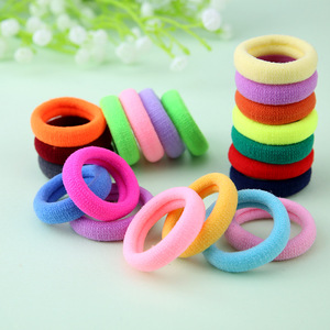 Hair accessories for girls/women Hiar ties for children gum for hair Mix color small size elastic hair bands 100 pieces