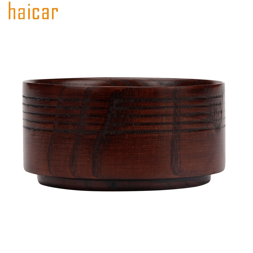 HAICAR ColorWomen Vintage Wooden Soap Bowls Mug Shave Bowl Cup For Men's Shaving Drop Shipping 170209 1