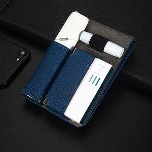 Image 5 - Jinxingchengためiqosマルチ3.0ホルダーボックスレザーケースフリップ財布ポーチバッグと充電器iqosマルチ充電