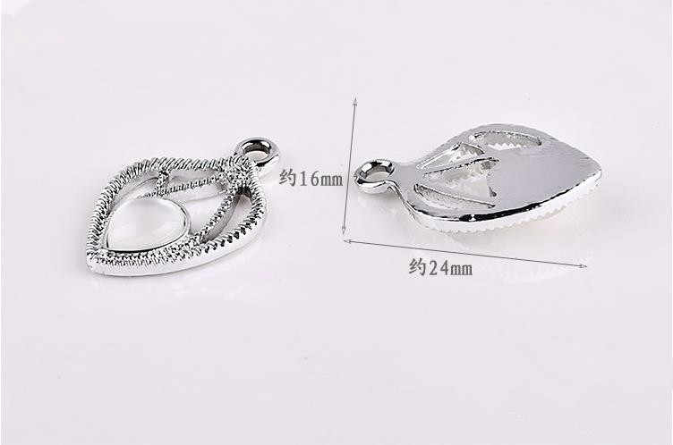DIY fashion handmade jewelry accessory 30pcs/lot alloy material brooch/earring/necklace/bracelet pendants
