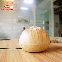 Hdifusor De Aroma 12W Nebulizer Wood Grain Ultrasonic Air Humidifier Aroma Diffuser Aromatherapy Office Purifier Mist