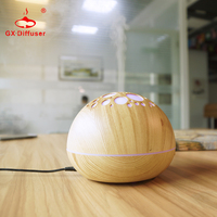 Hdifusor De Aroma 12W Nebulizer Wood Grain Ultrasonic Air Humidifier Aroma Diffuser Aromatherapy Office Purifier Mist