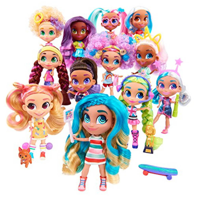 2019 Fashion Hairdorable Dolls For Girls Indoor Kids Girls Hair Beauty Surprise Dolls For Children Good Gift Dropshipping