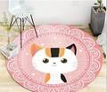 3 размера  круглый ковер с мультяшным кроликом для гостиной  компьютерное кресло  коврик для детской игровой палатки  напольный коврик для о...