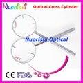 Офтальмологическая оптический крест цилиндра 4 диоптрий для дополнительного 0.25, 0.50, 0.75, 1.00 E09-5503 бесплатная доставка