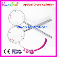 Ophthalmic Optical Cross Cylinder 4 Diopters For Optional 0 25 0 50 0 75 1 00