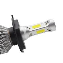 1 шт. светодиодный H11 H8 HB4 H1 HB3 Авто S2 автомобильные лампы для передних фар 30 Вт 4000LM стайлинга автомобилей 6000K светодиодный помощи при парковке