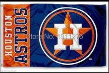 MLB Houston Astros Flag 3×5 FT 150X90CM Banner 100D Polyester flag  free shipping