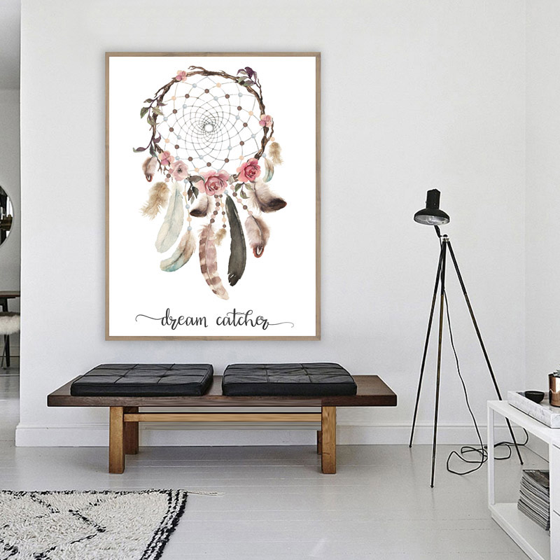 diamond embroidery feather Dream Catcher diy diamond painting For Living Room Flower Good Night Nordic Style Kids Decoration