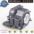 High Quality ELPLP42 New Replacement Projector Lamp with Housing For EPSON EMP-400W EB-410W EB-140 W EMP-83H PowerLite 822 H330B