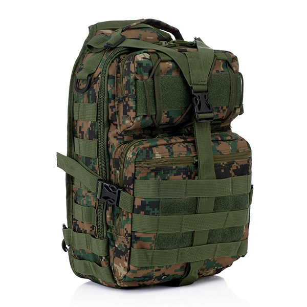 d3a4702c6a3c Excellent 7 Colors Oxford Military Tactical Backpack Men Chest Pack Molle  Shoulder backpack Camouflage Sling Sports Bag Hunting