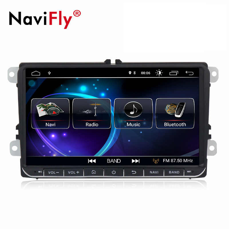 NaviFly 9 дюймов Android 8,1 Автомобиль Радио DVD gps для Skoda Rapid/Octavia/Yeti/Superb/VW Гольф 5 6 touran passat B6 jetta Polo Tiguan