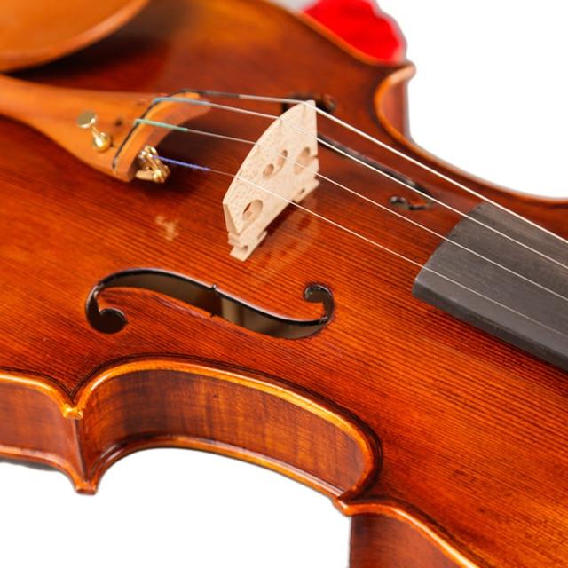 4/4 Professional Handmade Natural Pattern Violin High-end Antique Violin musical instrument