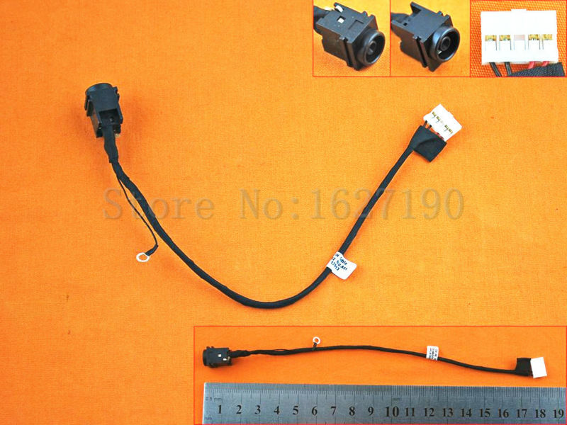 DBCParts for Sony Vaio PCG-81114L PCG-81115L VPC-F11 VPCF12 VPCF136FM PCG-7142L VPCF127FX VPCF126FM VPCF115FM VPCF115FM//B VPCF122FX//H DC Power Jack Harness Cable