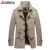 Joobox 2017 nueva gabardina, Slim Fit hombres abrigo, los hombres de algodón grueso abrigo, Invierno Hombre Chaquetas Y Abrigos de ropa de marca (FY007)