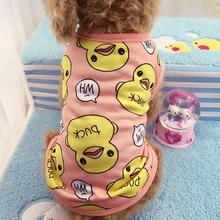 Cute Printed Pet Clothes Small Dog Jumpsuit Chihuahua Pajamas Hoodie Coat for Dogs Cats Super Soft Warm Puppy Costumev