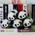 Diy mini bonito kawaii animal dos desenhos animados adorável animal simulação de pelúcia Gatos dormindo Brinquedo Panda De Pelúcia Boneca de Brinquedo Dom bloco de notas cat