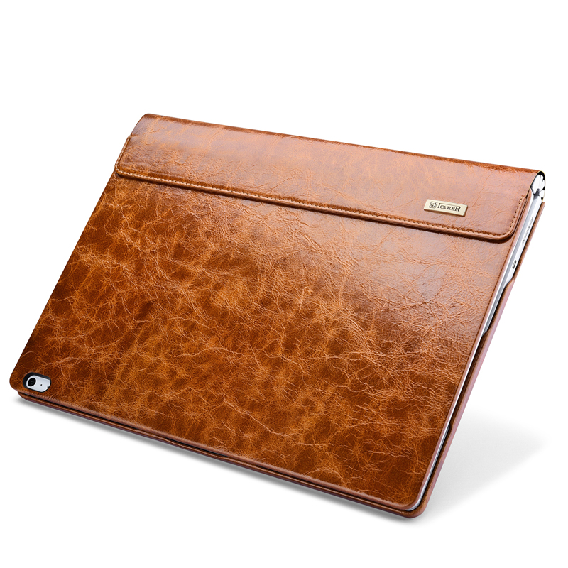 Oil Wax Vintage Cowhide Genuine Leather Case for Microsoft Surface Book 2 13.5 2018 Business Stand Smart Cover for Book 2
