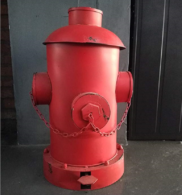 Loft Diy Vintage Creative Trash Can Home Recycling Bins Outdoor Waste Fire Hydrant Design Bar Cafe Decor
