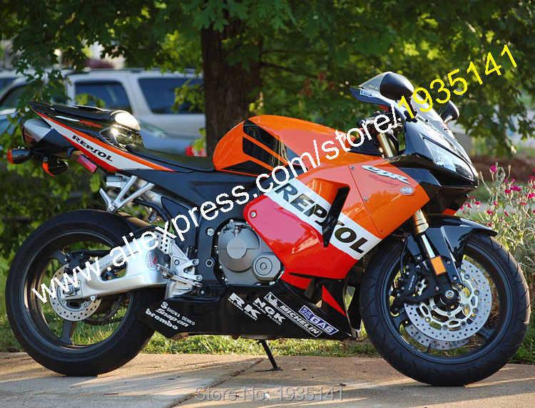 Injection molding Black Red Body Fairings For CBR600RR F5 2005 2006 CBR 600 RR 05 06 CBR600 600RR Fairing Kit
