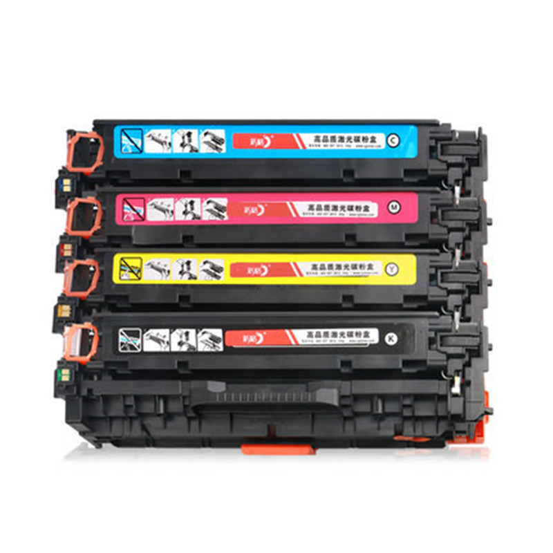 4PK Black Color Toner Cartridge CF380A CF381A CF382A CF383A 312A for hp LaserJet Pro MFP M476DW M476NW Printer Cartridges 4x cf380a cf381a cf382a cf383a 312a compatible color toner cartridge for hp laserjet pro mfp m476dw m476nw cf387a cf385a printer