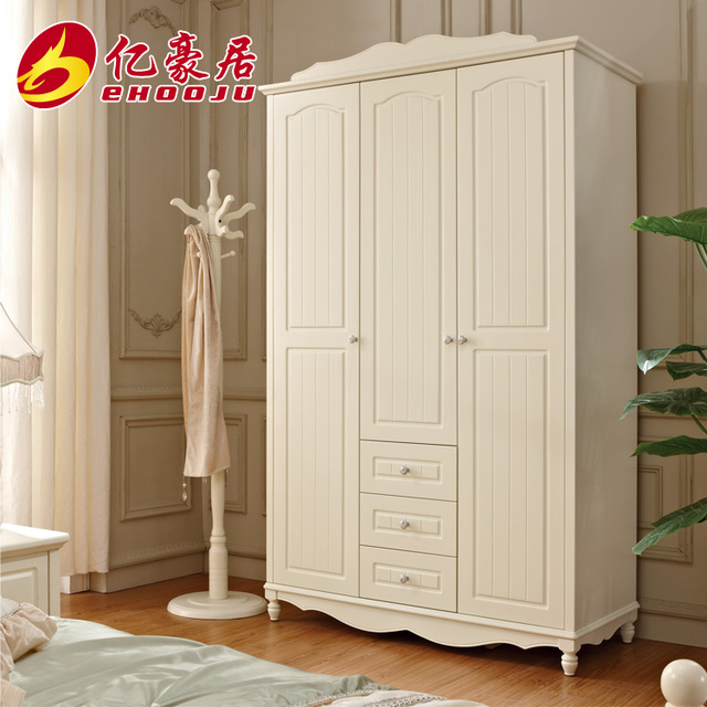 Korean Furniture Three Open Sliding Door Wardrobe Closet Special
