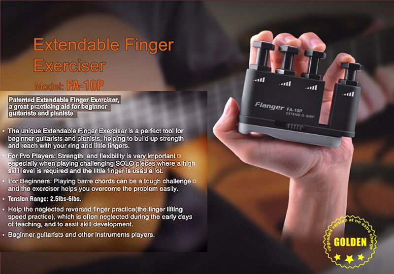 Flanger Best guitar finger exerciser- guitarmetrics