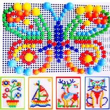 296 красочный пазл для ногтей в виде грибов интеллектуальная